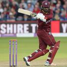 Chris Gayle has a major landmark in his sights (David Davies/PA)