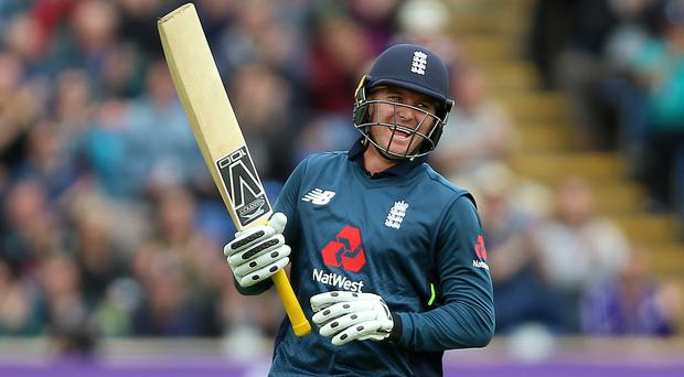 Jason Roy struck a ton for England (Nigel French/PA)