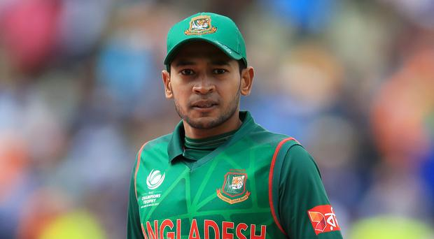 """Mushfiqur Rahim admitted Bangladesh were """"extremely lucky"""" to avoid the Christchurch shooting (Mike Egerton/PA)"""