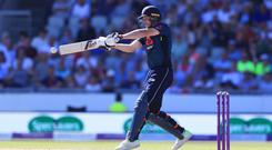 Jos Buttler was dismissed in controversial fashion (Mike Egerton/PA)