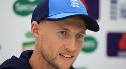 England skipper Joe Root was not impressed by Jos Buttler's controversial run out in India (Adam Davy/PA)