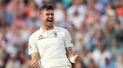 James Anderson is no longer certain England will win the World Cup (Adam Davy/PA)