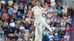 Sam Curran has been named as one of Wisden's five cricketers of the year (Adam Davy/PA)