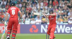 Steven Croft hit 97 as Lancashire edged to Roses victory over Yorkshire (Anna Gowthorpe/PA)