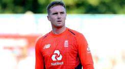 Jason Roy appears to have suffered a recurrence of his hamstring injury (Mark Kerton/PA)