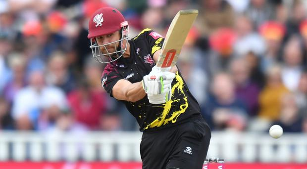 James Hildreth reached a club milestone for Somerset (Anthony Devlin/PA)