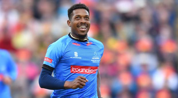 Chris Jordan could still be picked for England (Anthony Devlin/PA)