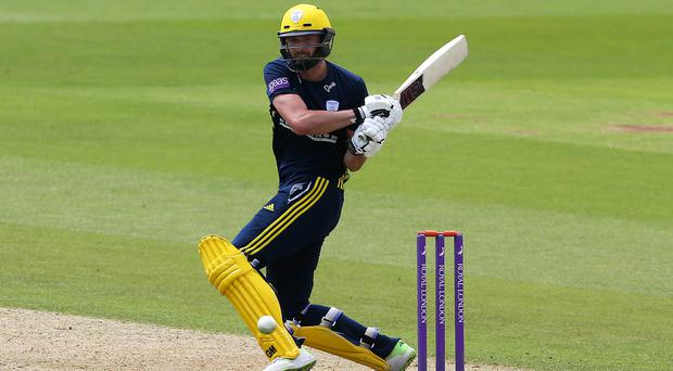 James Vince scored 190 in Hampshire's victory (Mark Kerton/PA)