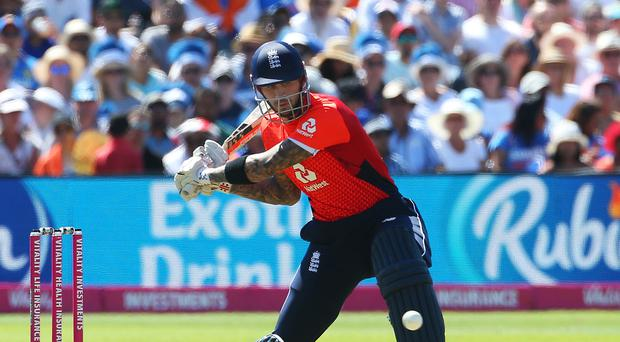 Alex Hales will not be part of England's World Cup squad this summer (Mark Kerton/PA)