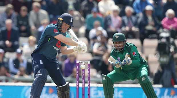 Eoin Morgan has been banned for the fourth one-day international against Pakistan (Adam Davy/PA).