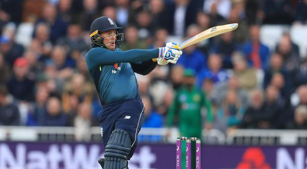 Jason Roy hit a century for England (Mike Egerton/PA)