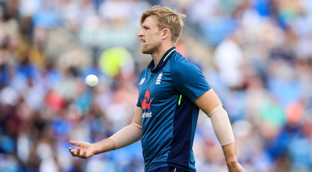 David Willey (pictured) looks likeliest to pay for Jofra Archer's easy transition to the international stage (Danny Lawson/PA)