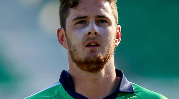 Instant hit: Mark Adair, one of Ireland's young all-rounders