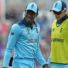 England's Jofra Archer suffered an injury in the warm-up game with Australia (Mark Kerton/PA)