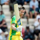 Steve Smith hit a century for Australia at the Ageas Bowl (Mark Kerton/PA)