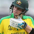 Steve Smith (pictured) and David Warner were facing England for the first time since returning from year-long ball-tampering bans (Mark Kerton/PA)