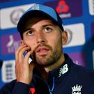 Mark Wood picked up an injury against Australia (Anthony Devlin/PA)