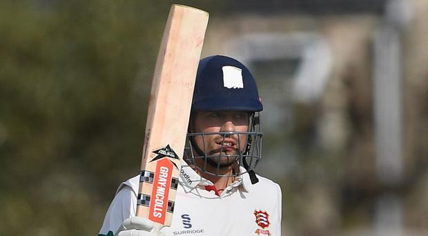 Alastair Cook hit a century for Essex (Joe Giddens/PA)