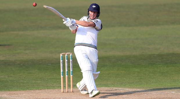 Gary Ballance helped put Yorkshire in charge against Hampshire (Simon Cooper/PA)