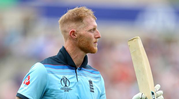 Ben Stokes top scored for England (Nigel French/PA)