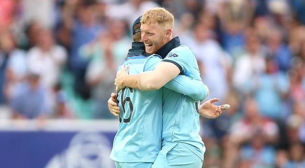 Ben Stokes took centre stage as England opened their World Cup campaign with a win (Nigel French/PA)