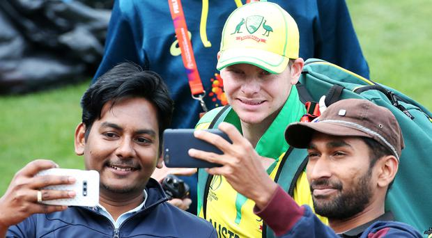 Australia coach Justin Langer has called on fans not to boo Steve Smith during the World Cup (Mark Kerton/PA)