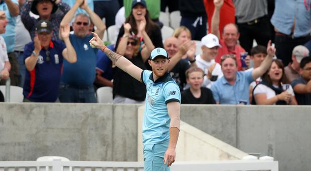 Ben Stokes took a stunning catch at the Oval (Tim Goode/PA)