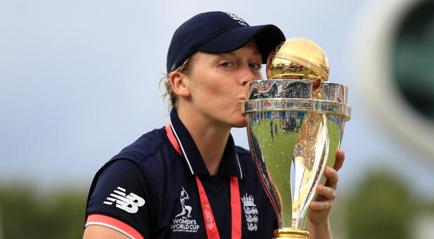 Heather Knight tasted World Cup victory in 2017 (John Walton/PA)