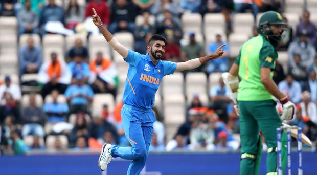 Jasprit Bumrah inspired India (PA/Adam Davy)