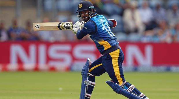 Sri Lanka captain Dimuth Karunaratne has urged his batsmen to live up to their potential. (Nigel French/PA)