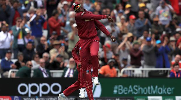 Sheldon Cottrell took a stunning catch (Simon Cooper/PA)