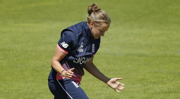 Laura Marsh is on the verge of her 100th ODI appearance for England (Paul Harding/PA)