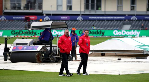 There was another washout in Bristol (Nick Potts/PA)