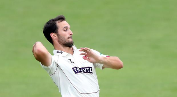Lewis Gregory took 11 wickets in the match as Somerset thrashed Kent to extend their lead at the top of Division One (Simon Cooper/PA)