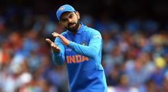 Virat Kohli insists India will not adopt a different mindset for their fixture against Pakistan (Nigel French/PA)