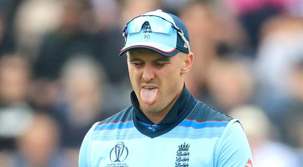 Jason Roy will miss out for England (Adam Davy/PA)