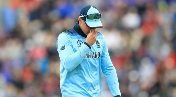 Jason Roy could miss next week's clash with Australia due to his left hamstring injury (Adam Davy/PA)
