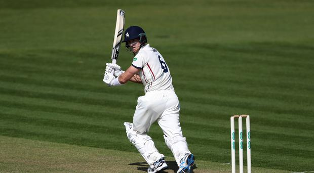 Joe Denly scored his first century in the County Championship this season (Chris Ison/PA)