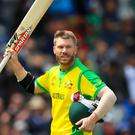David Warner registered his second century of the World Cup (Simon Cooper/PA)