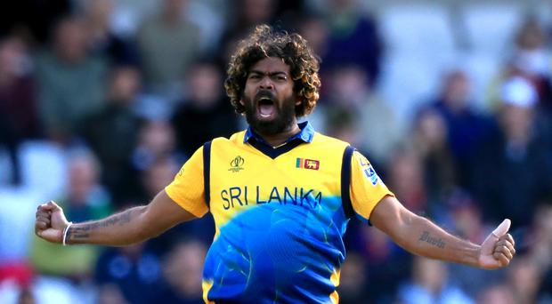 Sri Lanka's Lasith Malinga ripped through England (Simon Cooper/PA)