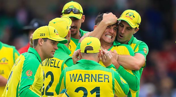 Australia have won five of their opening six World Cup matches (Simon Cooper/PA)