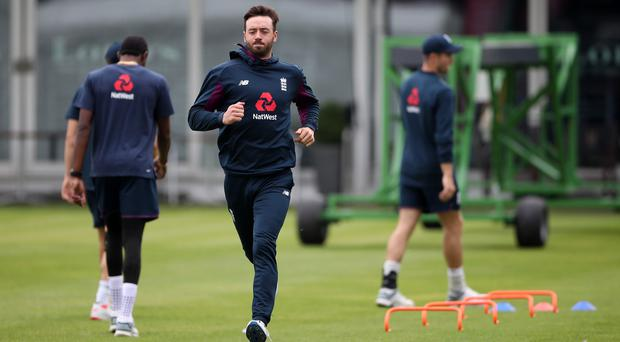 James Vince, pictured, will once again partner Jonny Bairstow in the absence of Jason Roy (Tim Goode/PA)