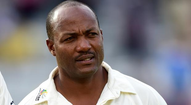 Brian Lara gave a positive update on his health (Adam Davy/PA)