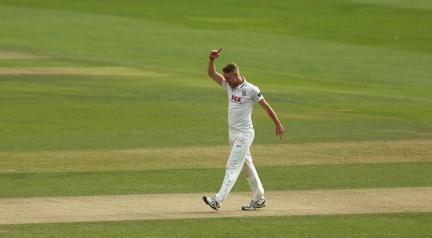 Jamie Porter enjoyed a strong showing in Essex's Specsavers Division One clash with Somerset. (Steven Paston/PA)