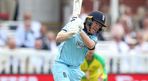 Eoin Morgan has conceded England's batting has let them down (Tim Goode/PA)