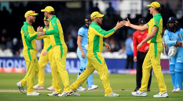 Australia had plenty to celebrate and England a lot to think about following the home side's defeat at Lord's (Adam Davy/PA)