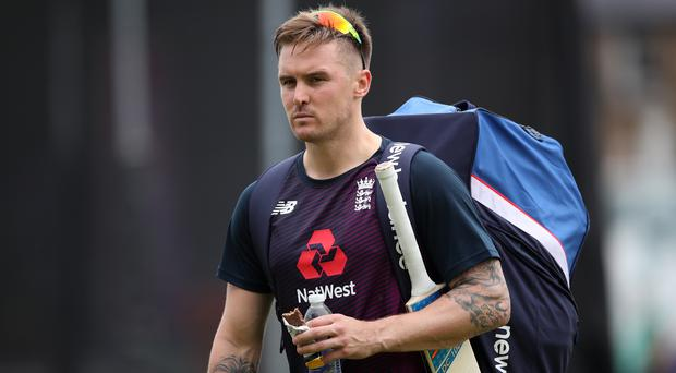 Jason Roy could return to face India (Tim Goode/PA)