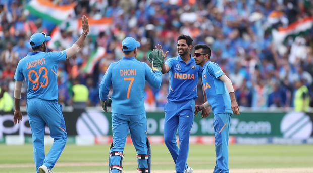 India are into the World Cup semi-finals after their 28-run win over Bangladesh (David Davies/PA)