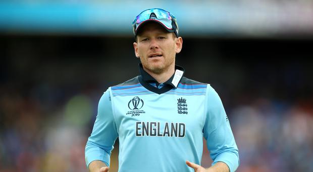 Eoin Morgan knows a win over New Zealand will see England advance (Nigel French/PA)