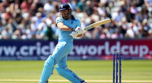 England's Jonny Bairstow in action against New Zealand (Nigel French/PA)